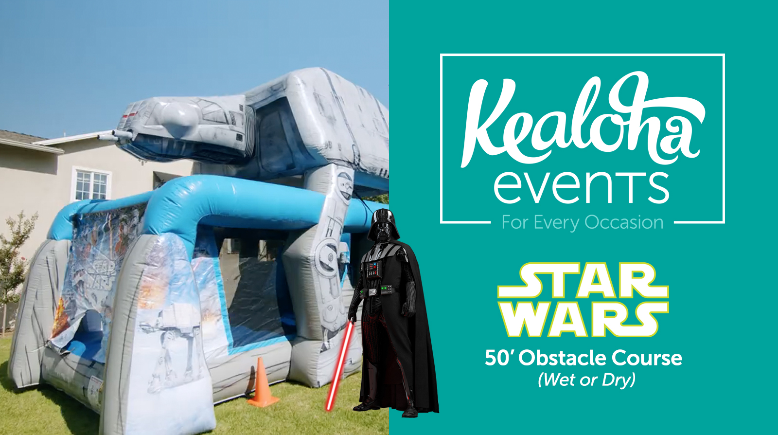 Star Wars Obstacle Course Video