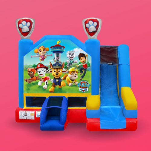 Paw Patrol Combo Bounce House